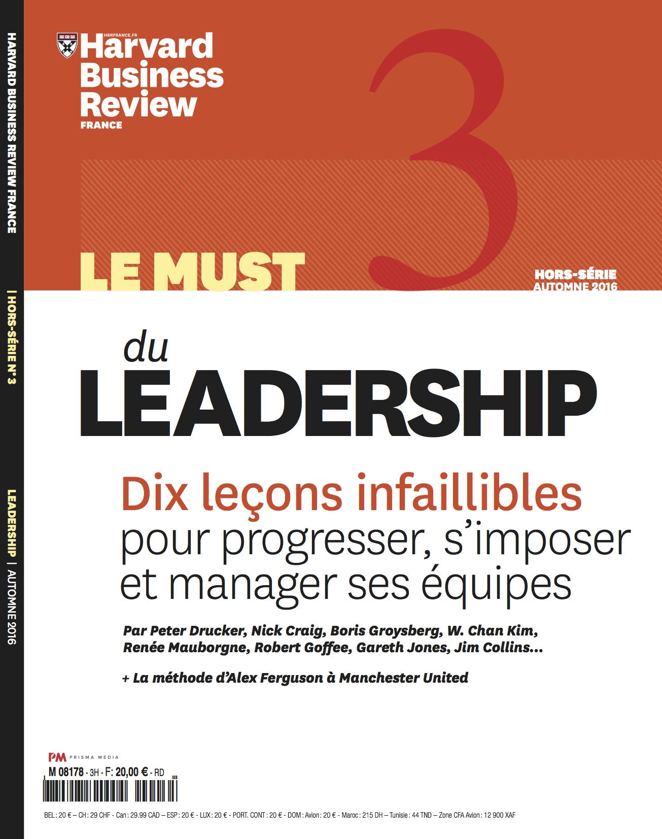 Le must du leadership