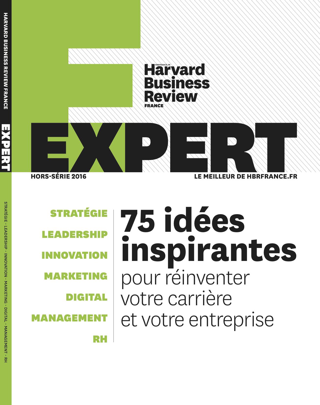 Hors-Série Harvard Business Review Expert 2016
