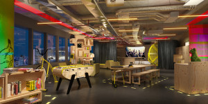 "Le ""Playground"", showroom Sequana ©AccorHotels"