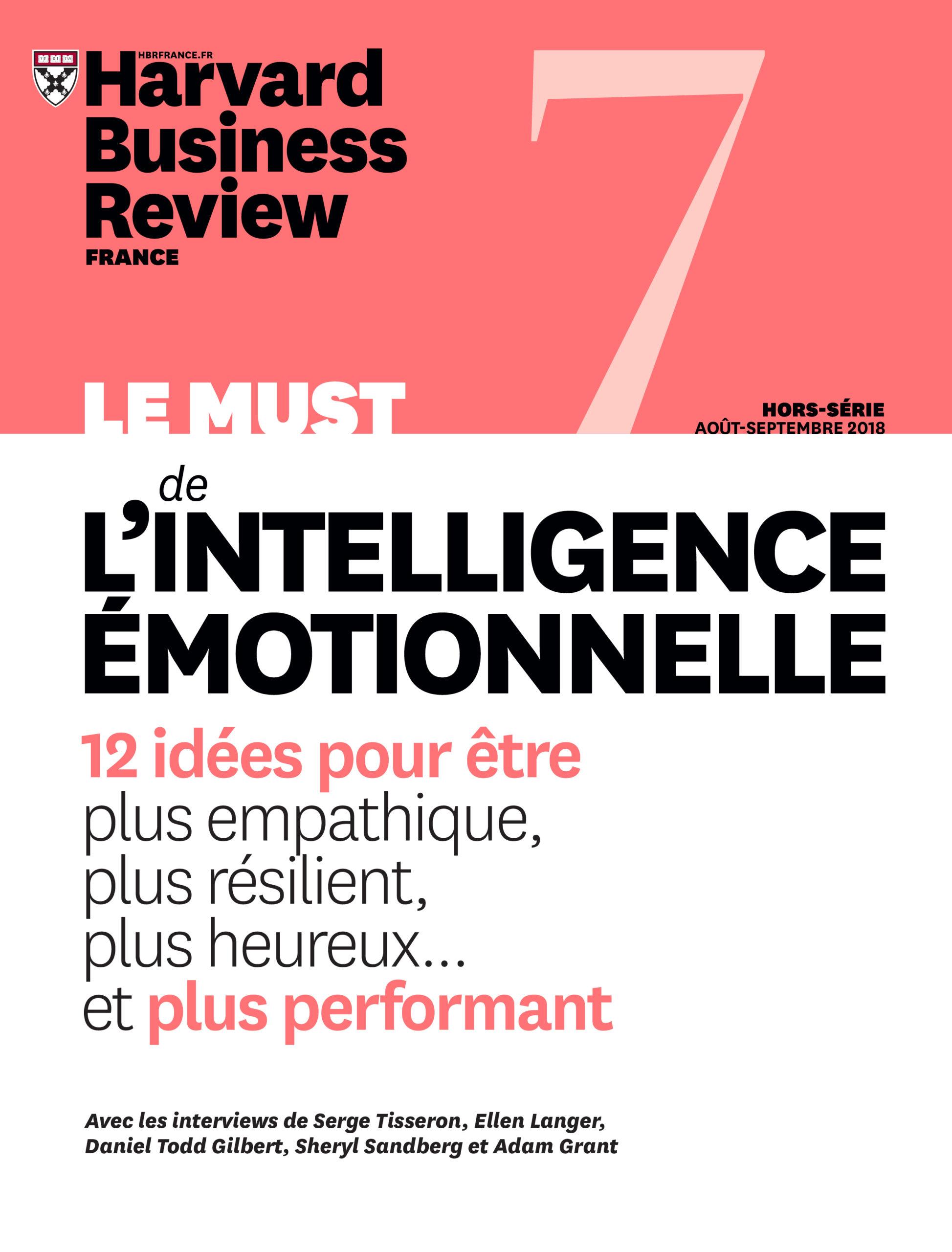Le must de l'intelligence émotionnelle